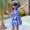 Pietra, de 2 ans, é a filha mais velha do sertanejo Cristiano, dupla de Zé Neto