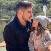 Sertanejo Cristiano 'ganha aula' da filha, Pietra, sobre limpeza de mãos. Vídeo!