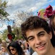Sophia Valverde e Lucas Burgatti namoraram por sete meses