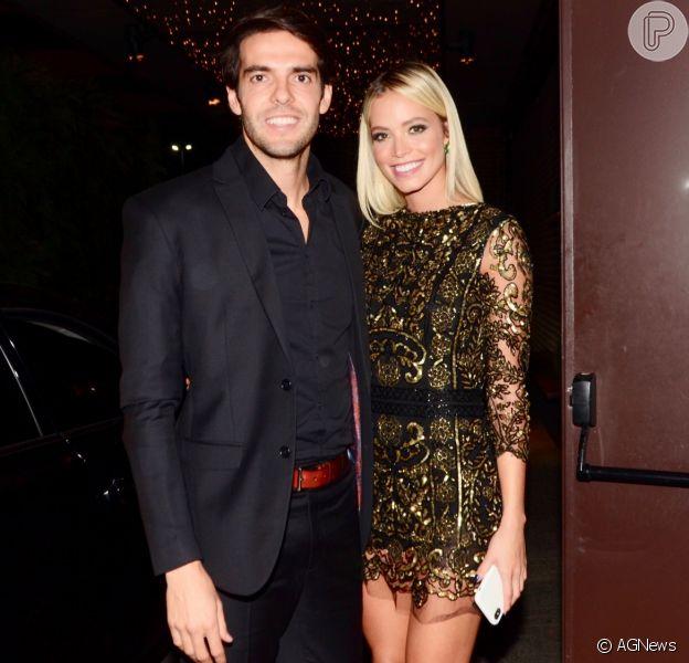 Kaká contou que planeja filhos com a modelo Carol Dias