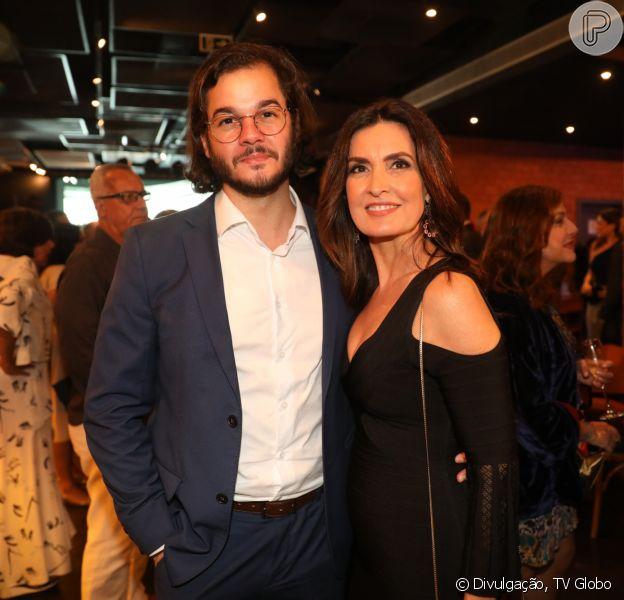 Fátima Bernardes combina look em foto na quarentena com Túlio Gadêlha
