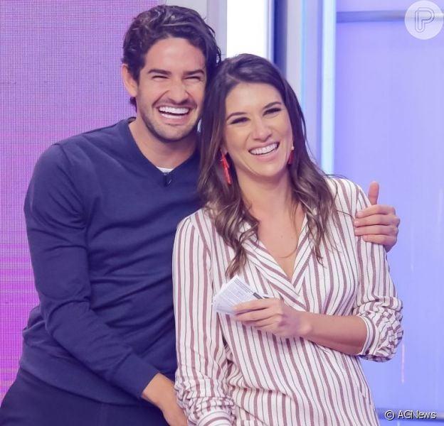 Casal fit! Rebeca Abravanel e Pato mostram sintonia em treino: 'Sempre juntos'