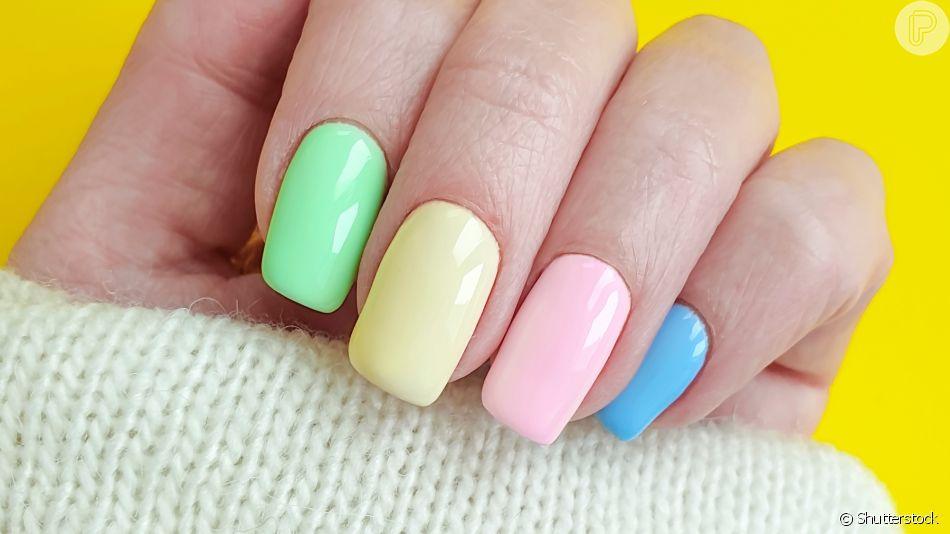 Unha na moda: candy color está na moda