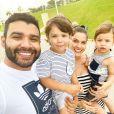Gusttavo Lima já pediu uma filha menina para Andressa Suita