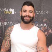 Gusttavo Lima relaxa com banho de piscina e ganha elogios dos fãs em nova selfie