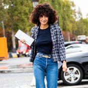 Calça jeans básica: as combinações certas para um look estiloso em dias frios