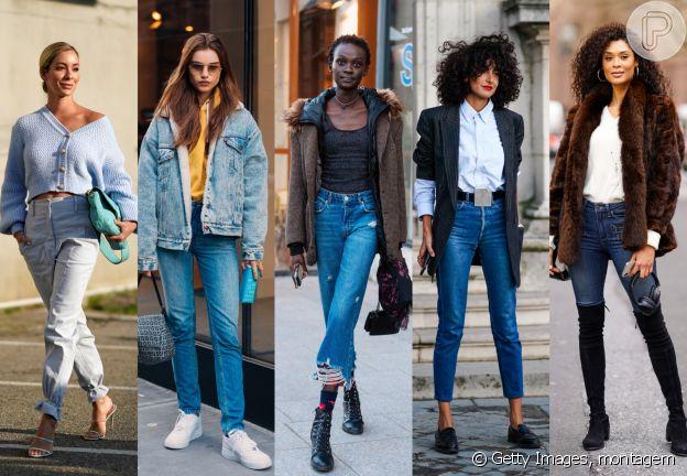 Calça jeans + o calçado ideal para cada produção