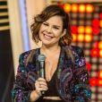 Fernanda Souza acompanhou a live do ex-marido à distância