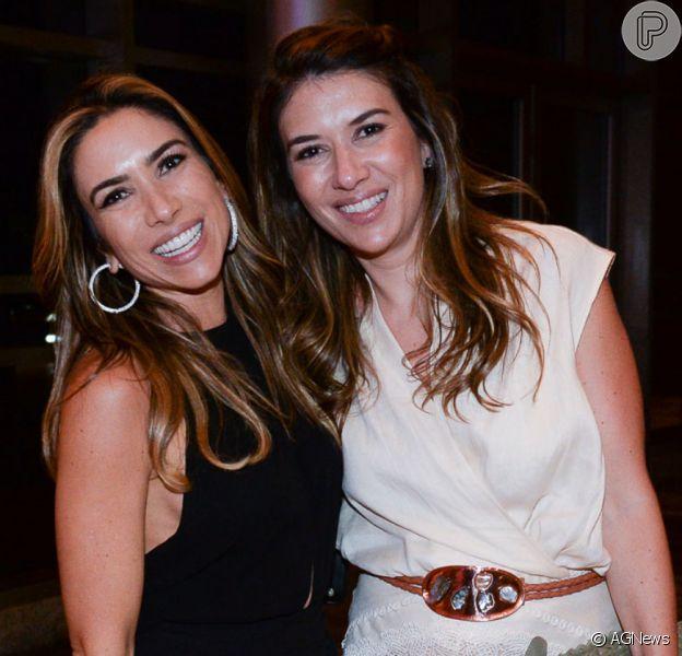 Patricia Abravanel exibe momento divertido com Rebeca Abravanel