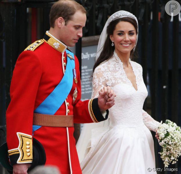 9 anos de casamento: lembre detalhes do look de noiva de Kate Middleton em matéria nesta quarta-feira, dia 29 de abril de 2020