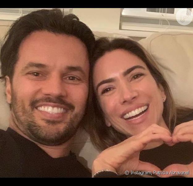 Patricia Abravanel fez declaração para o marido, Fabio Faria, ao comemorar 3 anos de casada com o deputado: 'Amor e aprendizado'