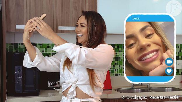 Mãe de Lexa revela que a cantora tem alergia a alho