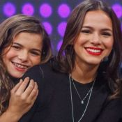 Luana Marquezine faz brincadeira com a mãe e diverte a irmã, Bruna. Veja!