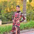 O vestido usado por Munik Nunes é da grife Morena Rosa
