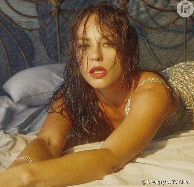 Paolla Oliveira comenta sobre cenas de nudez na TV