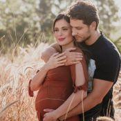 Kamilla Salgado revela reação de Eliéser Ambrósio com gravidez: 'Queria ser pai'