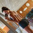 O corpo de Adriana Sant'Anna foi muito elogiado na web