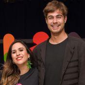 Tatá Werneck grava programa com Rafael Vitti e declara: 'Ainda mais apaixonada'