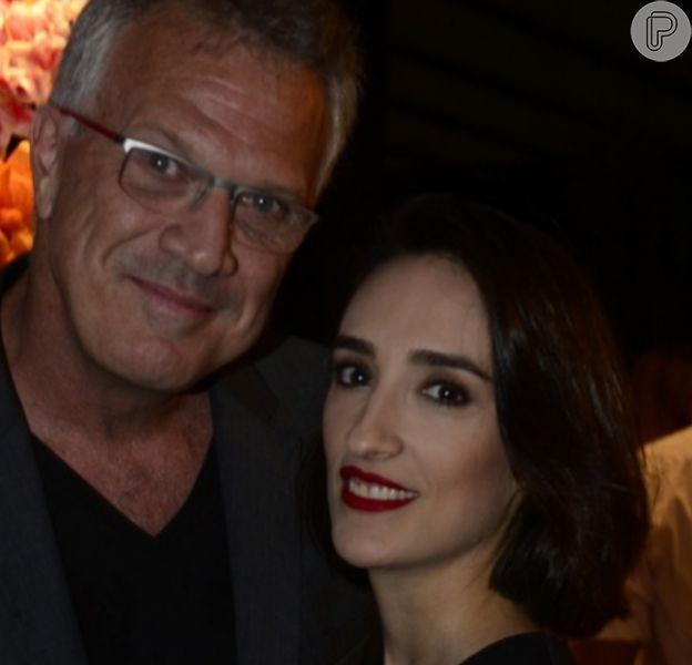 Beleza da filha caçula de Pedro Bial, Dora chamou atenção da web: 'Lindeza'