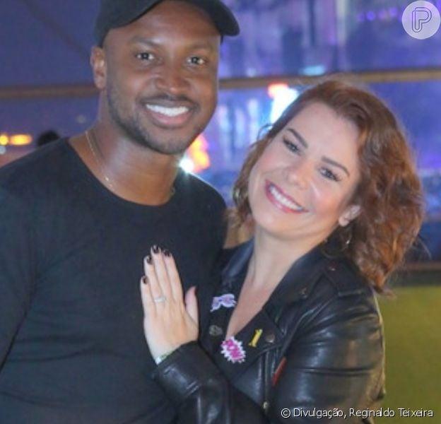 Thiaguinho se declara para Fernanda Souza em aniversário