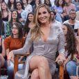 Claudia Leitte se encantou com a beleza de Carol Dias em vídeo