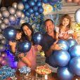 Malvino Salvador e Kyra Gracie já são pais de Kyara e Ayra