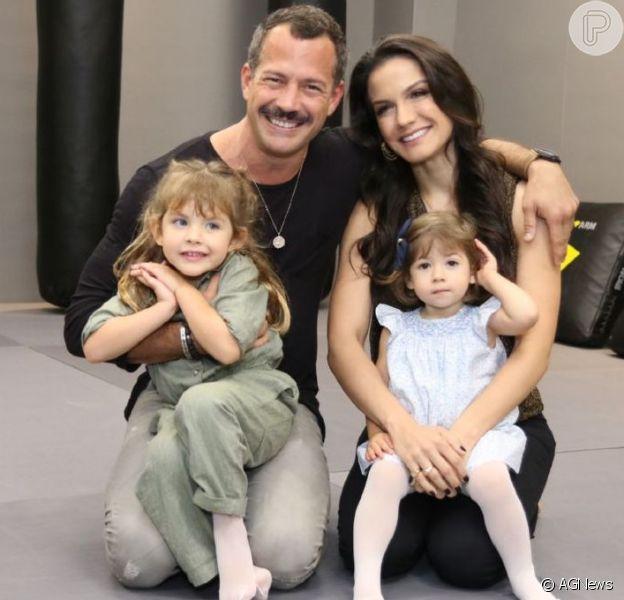 Malvino Salvador e Kyra Gracie descobrem que serão pais de um menino, em 28 de junho de 2020