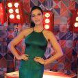 Mariana Rios deixou à mostra a barrigunha saliente de gravidez