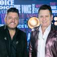 Bruno e Marrone se apresentaram em live com apresentação de Flavia Viana