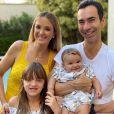 Ticiane Pinheiro é casada com o jornalista Cesar Tralli