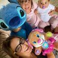 Ticiane Pinheiro  está passando mais tempo com as filhas