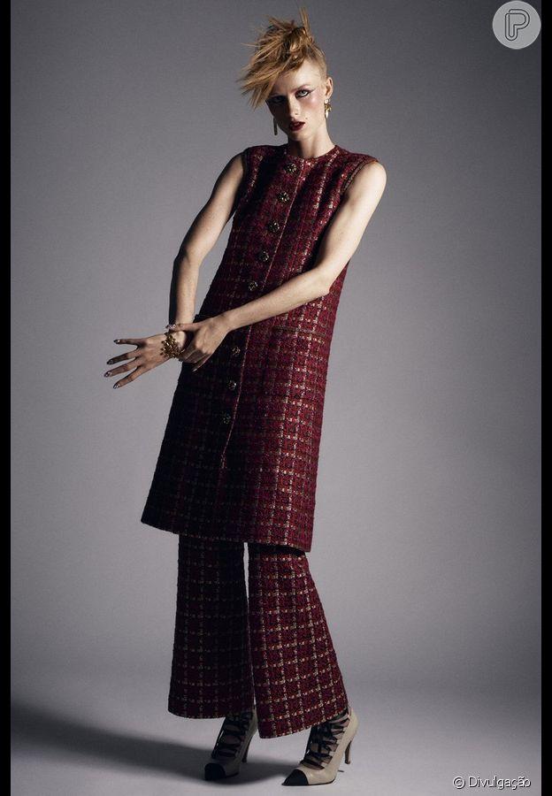 Conjuntinhos e sobreposições foram as apostas da Chanel para a semana de alta-costura