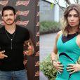 A atriz também teve um romance com o lutador de MMA Erick Silva