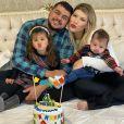 Paula Vaccari é casada com Cristiano, com quem tem dois filhos