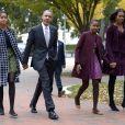 Michelle Obama e Barack Obama são pais de Sasha e Malia