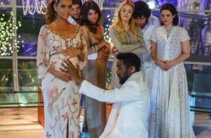 Final de 'Geração Brasil' emociona com bênção de Lázaro Ramos à própria filha