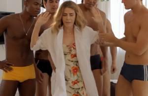 Maitê Proença rebate crítica de fãs sobre vídeo de humor: 'É que dei pra beber'