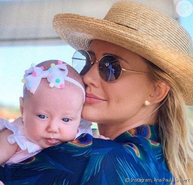 Semelhança entre Ana Paula Siebert e filha, Vicky, chama atenção na internet
