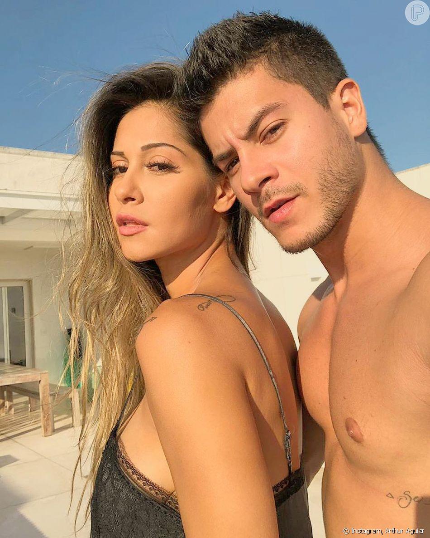 Mayra Cardi e Arthur Aguiar não voltaram a se relacionar de forma amorosa -  Purepeople