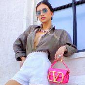 Deu pink! Bolsa rosa fluor de Flávia Pavanelli é a nova queridinha da it girl