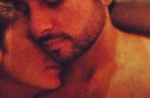 Claudia Leitte posta foto em momento íntimo com o marido, Marcio Pedreira