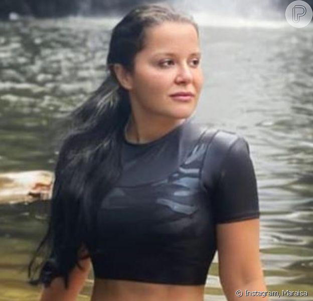 Maraisa aparece sem maquiagem na web após críticas por aparência