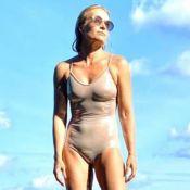 Angélica exibe foto com biquíni hot pant e encanta famosos: 'Maravilhosa'