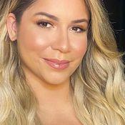 Marilia Mendonça, de cabelo longo e make glow, agita famosas por beleza: 'Gata'