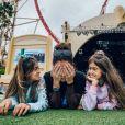 Giovanna Antonelli também é mãe das gêmeas Antonia e Sofia, de 9 anos