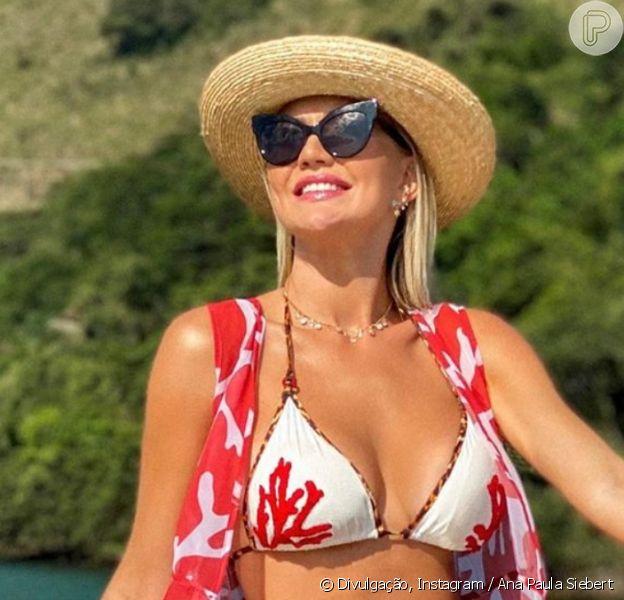Corpo de Ana Paula Siebert ganha elogios de seguidores em foto de biquíni, em 27 de setembro de 2020