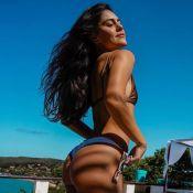 Jessika Alves renova bronze de biquíni e incentiva: 'Vai com o melhor corpo'