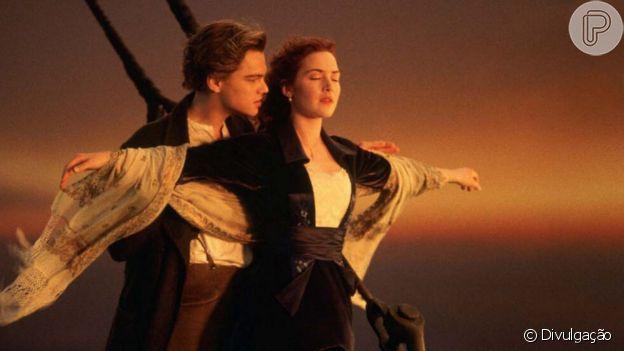 Figurino rico em detalhes usado pela personagem Rose DeWitt Bukater encanta em 'Titanic'