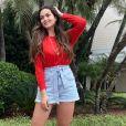 Corpo mais magro de Suzanna Freitas chama atenção na web
