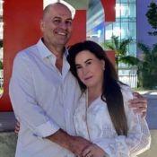 Zilu Godoi abraça namorado em foto e comemora 6 meses de relação: 'Me surpreende'